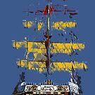 The ship Jose Gasparilla by David Lee Thompson