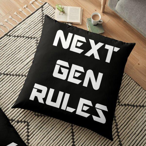 Next Gen Rules Floor Pillow