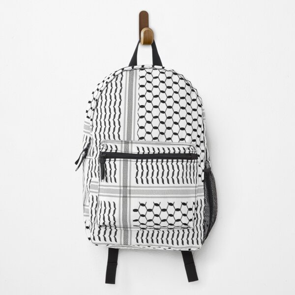 Palestine Scarf Design Backpack