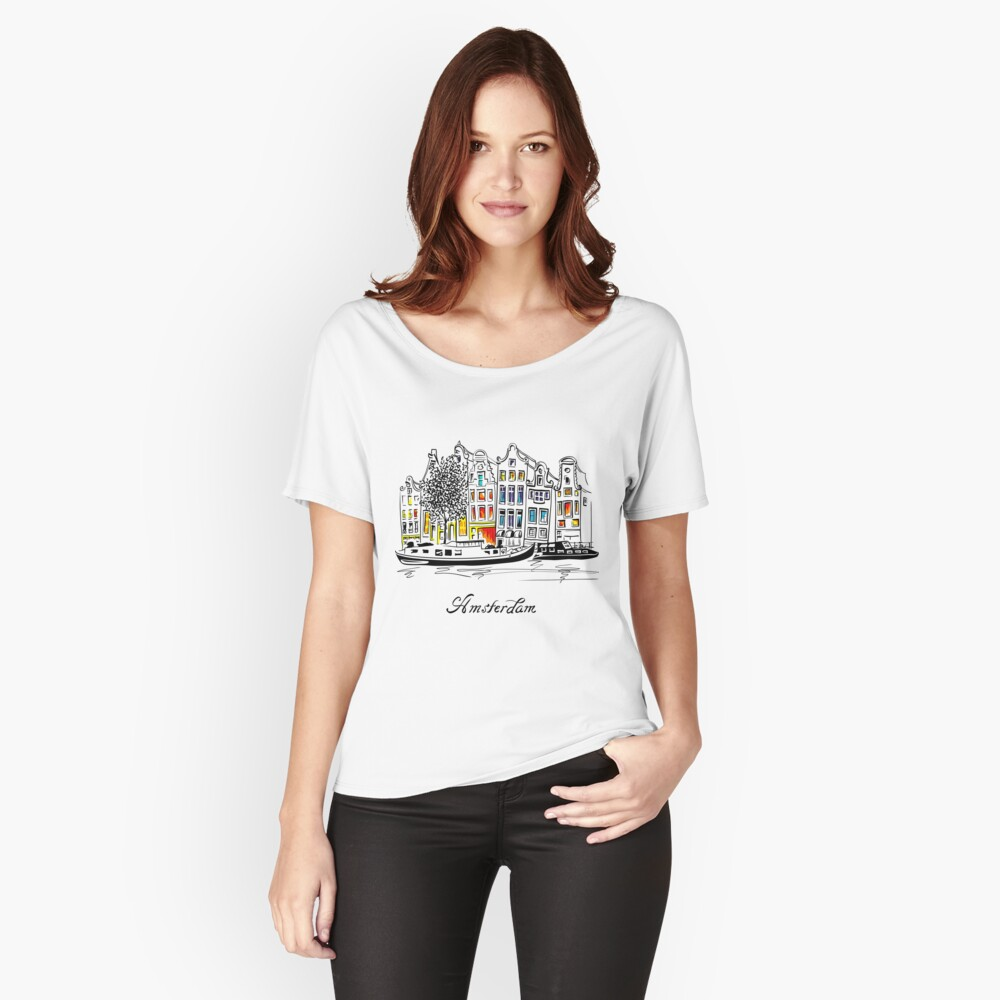 Amsterdam Loose Fit T-Shirt