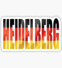Heidelberg. Sticker