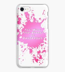 Pink Energy iPhone Case/Skin