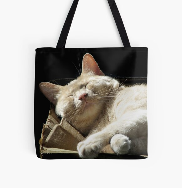 Funny Face All Over Print Tote Bag