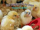 Just Hanging with my Peeps by FrankieCat
