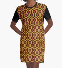Vestido camiseta Textura de la alfombra brillante redrum