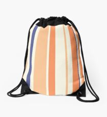 Stripes Drawstring Bag