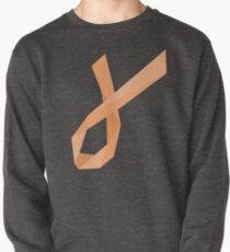 Geometric Womb Cancer Ribbon Pullover