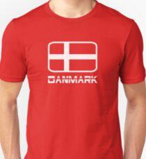 Danmark Flag T-Shirt