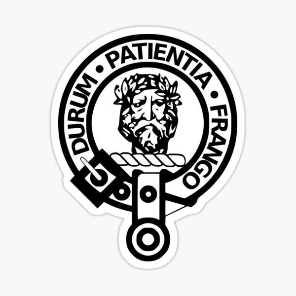 Crest Badge of Clan Muir Sticker