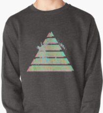 Sudadera cerrada Pirámide de Vaporwave