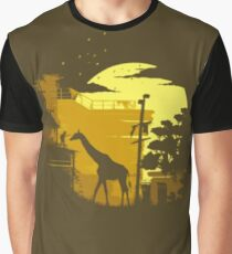 The Last of Us Giraffe Yellow Graphic T-Shirt