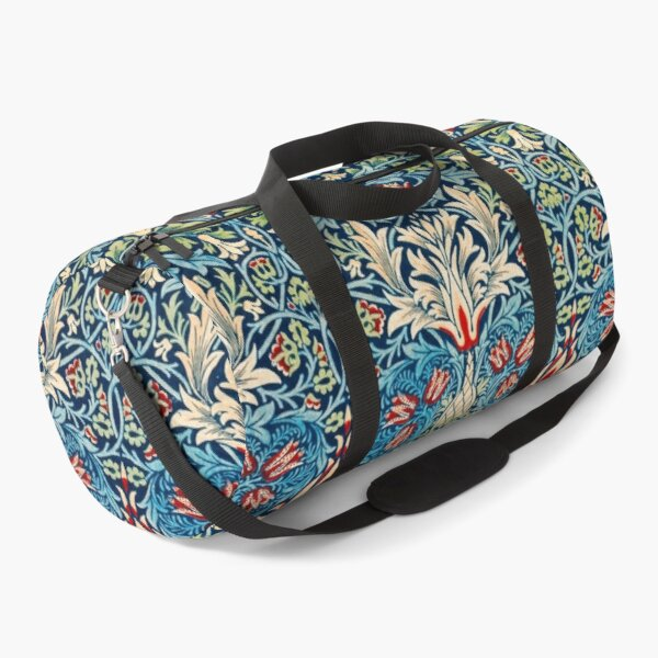 Snakeshead pattern by William Morris Duffle Bag