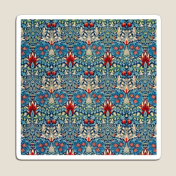 Snakeshead pattern by William Morris Magnet