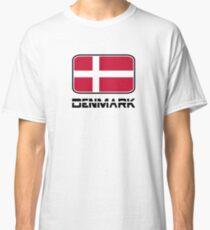 Denmark Flag Classic T-Shirt