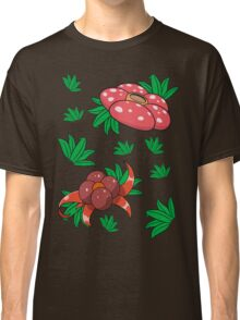 Oddish, Gloom, Vileplume Pattern Classic T-Shirt