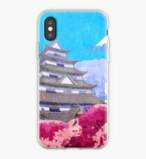 Hanamura Vintage Travel Poster iPhone Case