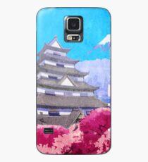 Hanamura Vintage Travel Poster Case/Skin for Samsung Galaxy