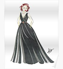 Black Widow, Evening Gown  Poster