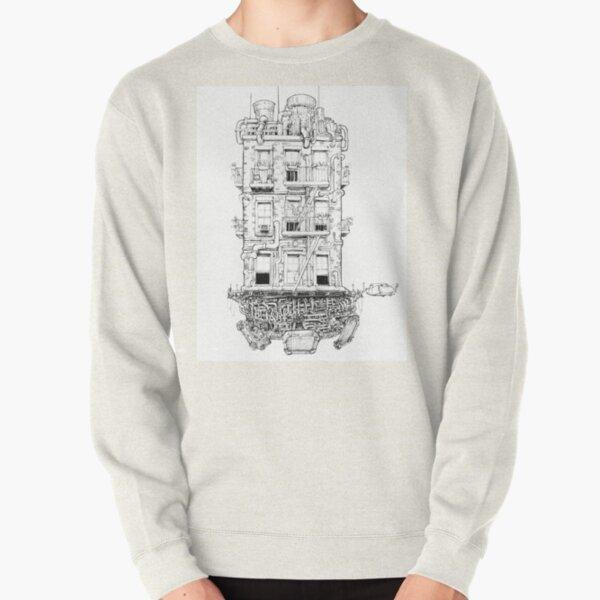 Space Apartment Pullover Sweatshirt