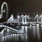 London alight by Danny Pettinger