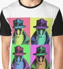 Rorschach Pop Art Graphic T-Shirt