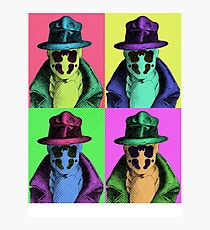 Rorschach Pop Art Photographic Print