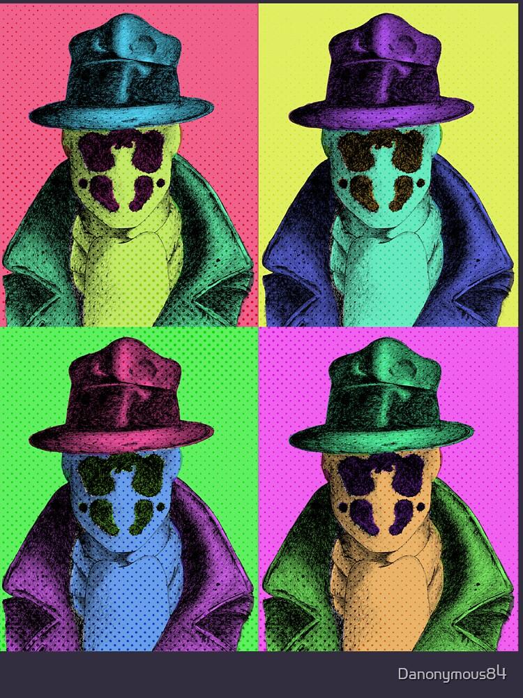 Rorschach Pop Art by Danonymous84