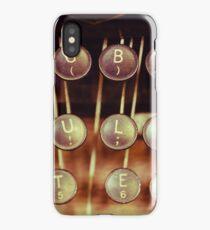Vintage Keys iPhone Case/Skin