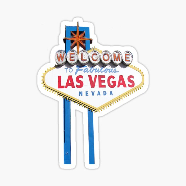 Welcome to Fabulous Las Vegas Sticker