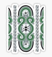 Diamonds II Sticker