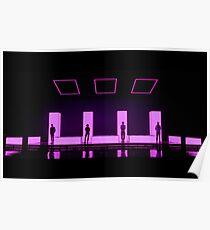 Tumblr Grunge The 1975 Pink Poster