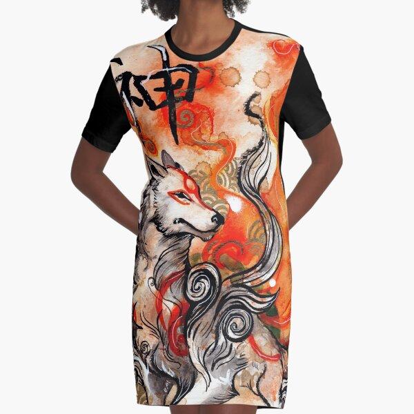 Okami Amaterasu Vestido camiseta
