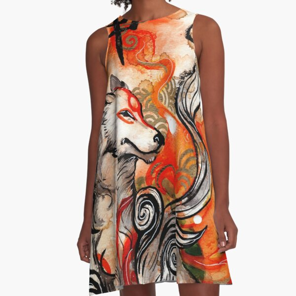 Okami Amaterasu A-Line Dress