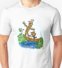 Groot and Rocket Unisex T-Shirt