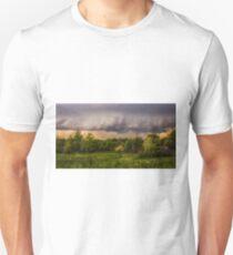 Redreaming Storm In Sempronius New York  T-Shirt