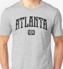 Atlanta 404 (Black Print) T-Shirt