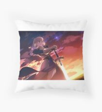 Fate/stay night: Unlimited Blade Works Saber Throw Pillow