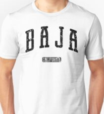 Baja California (Black Print) Unisex T-Shirt