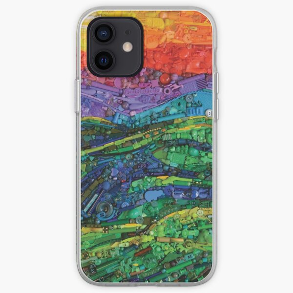 Abstract Hills iPhone Soft Case