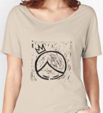 super cooper logo merch Women's Relaxed Fit T-Shirt