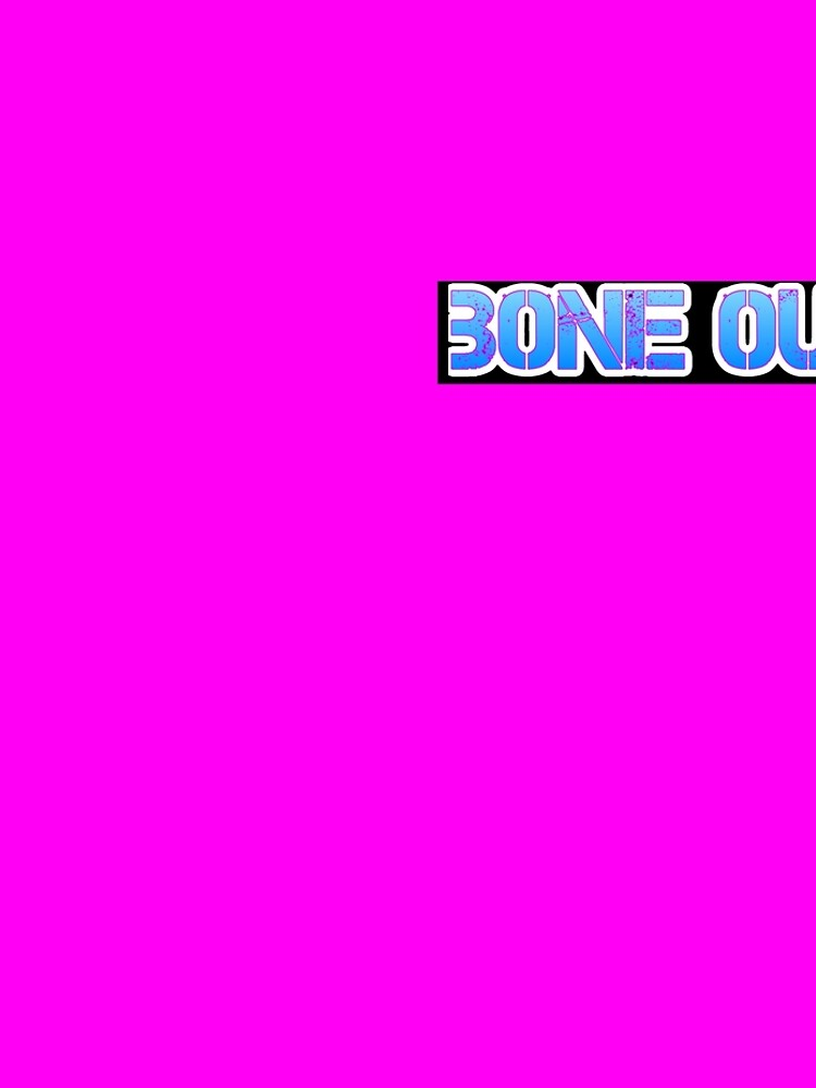 HOT PINK COLLECTION BONE OUT!  Get inspired to live! by StlnUndrgrnd