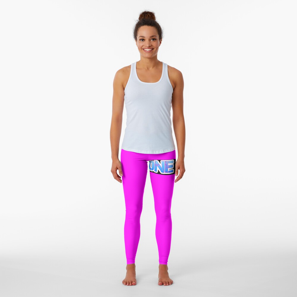 HOT PINK COLLECTION BONE OUT!  Get inspired to live! Leggings