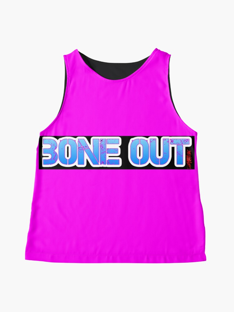 Alternate view of HOT PINK COLLECTION BONE OUT!  Get inspired to live! Sleeveless Top