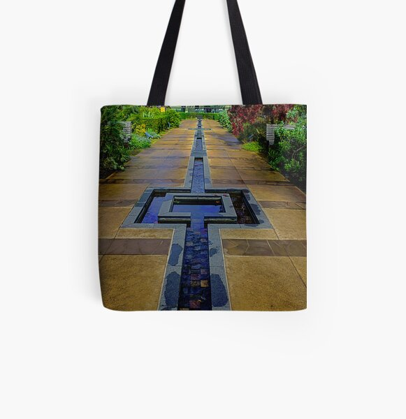 Water feature #1 All Over Print Tote Bag