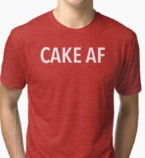 CAKE AF Tri-blend T-Shirt