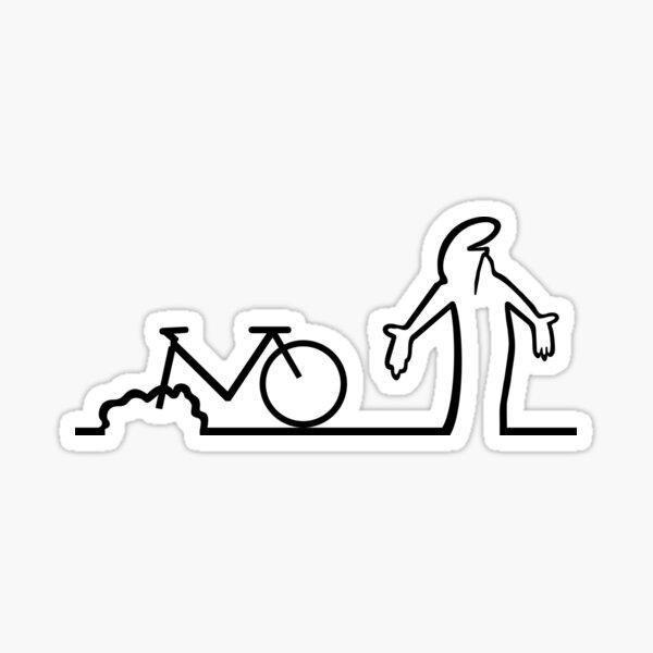 Vélo La Linea Sticker