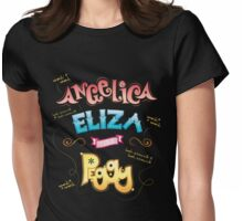 The Schuyler Sisters! Womens Fitted T-Shirt