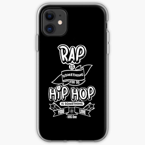 Hip Hop Is Something You Live iPhone Soft Case