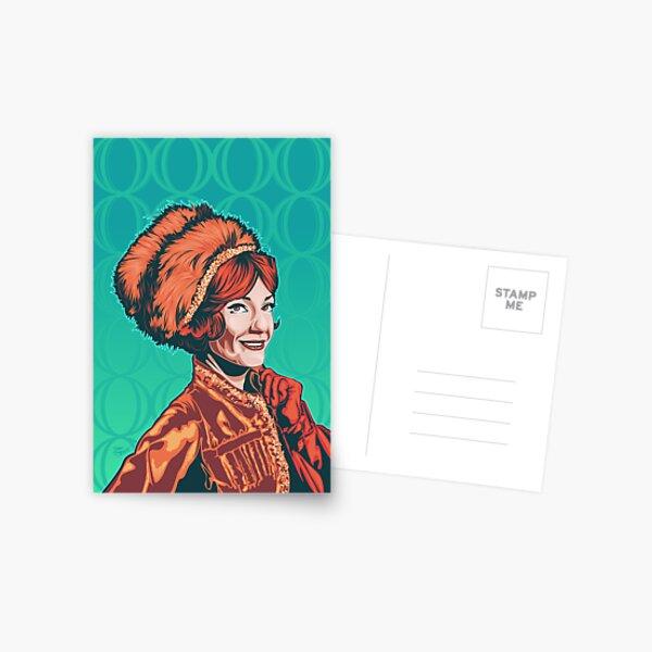 Ann Baxter Olga - Queen of the Cossacks Postcard