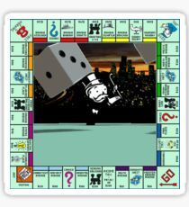 Monopoly Retro Game Board Sticker